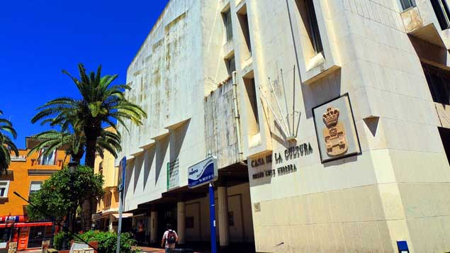 Casa de la Cultura en La Línea de la Concepción