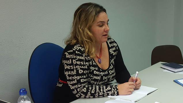 Rosa Pérez concejal de Sanidad del Ayuntamiento de La Línea