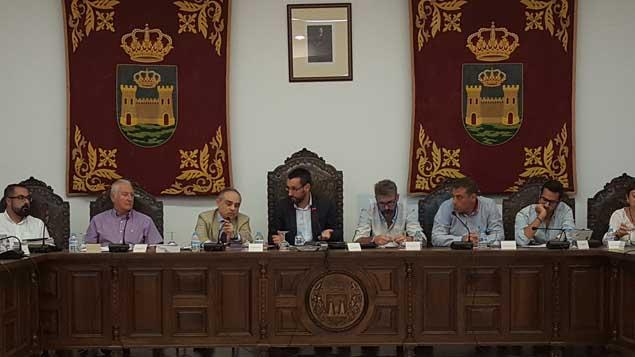 Pleno Ordinario del ayuntamiento de La Línea