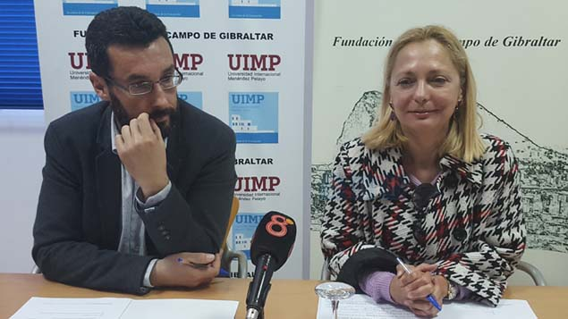 Juan Franco y Soledad Rodríguez en la UIMP